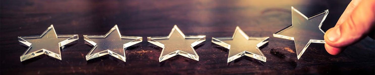 Five Stars on Wood [838277670]