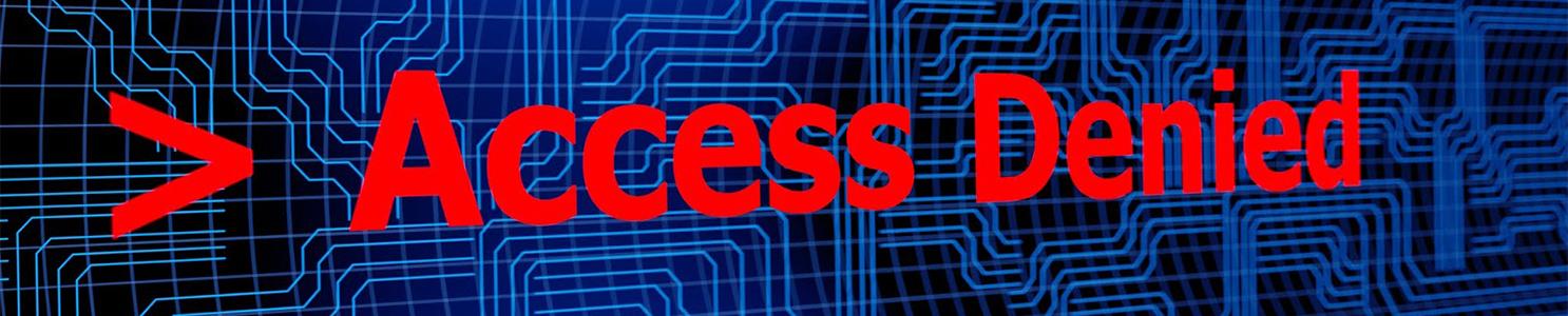 Access Denied [185278902]