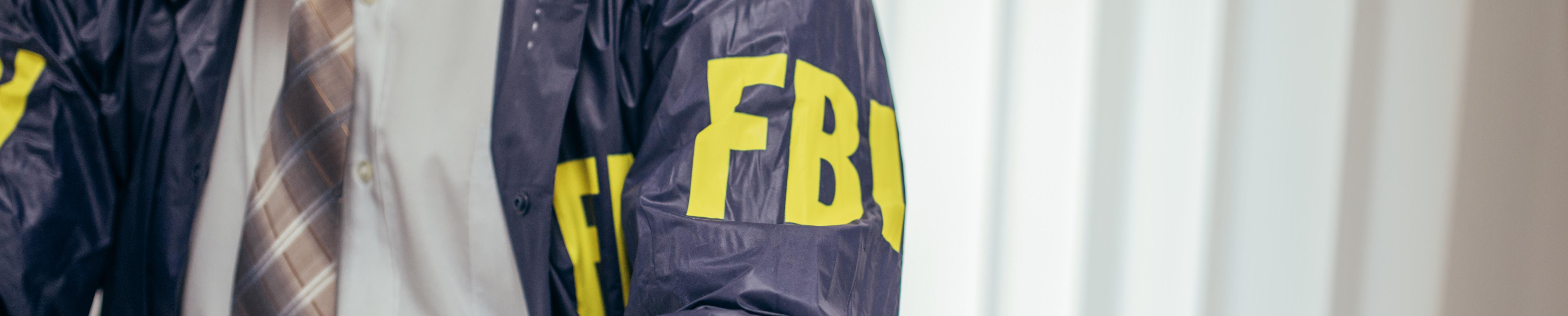 FBI Agent working at desk [1184820860] - Copy