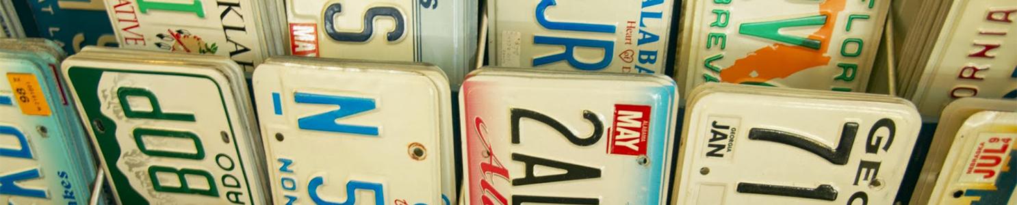 License Plates [87536532]